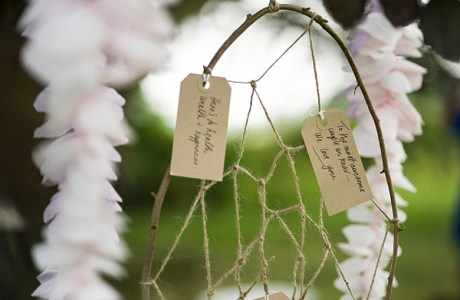 DIY Wedding Dreamcatcher Guest Book
