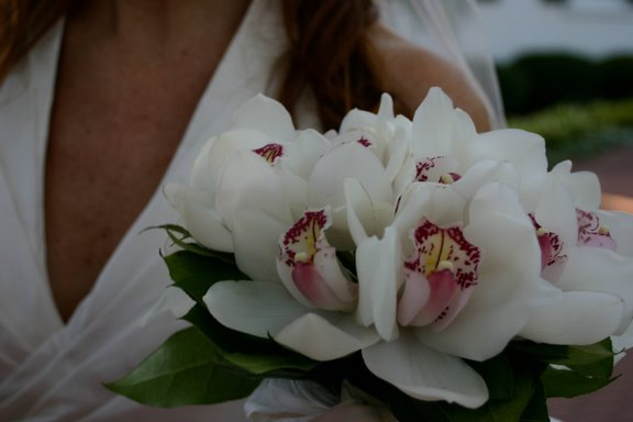 Bridal bouquet for Sarasota wedding at the Ritz Carlton