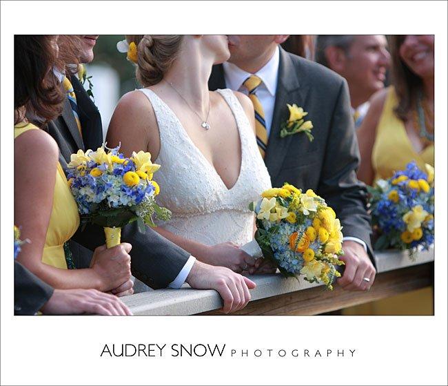 Wedding Flowers (Bridal Bouquet, Bridesmaids Bouquet, Grooms Buttoneire) at Sarasota Field Club Wedding