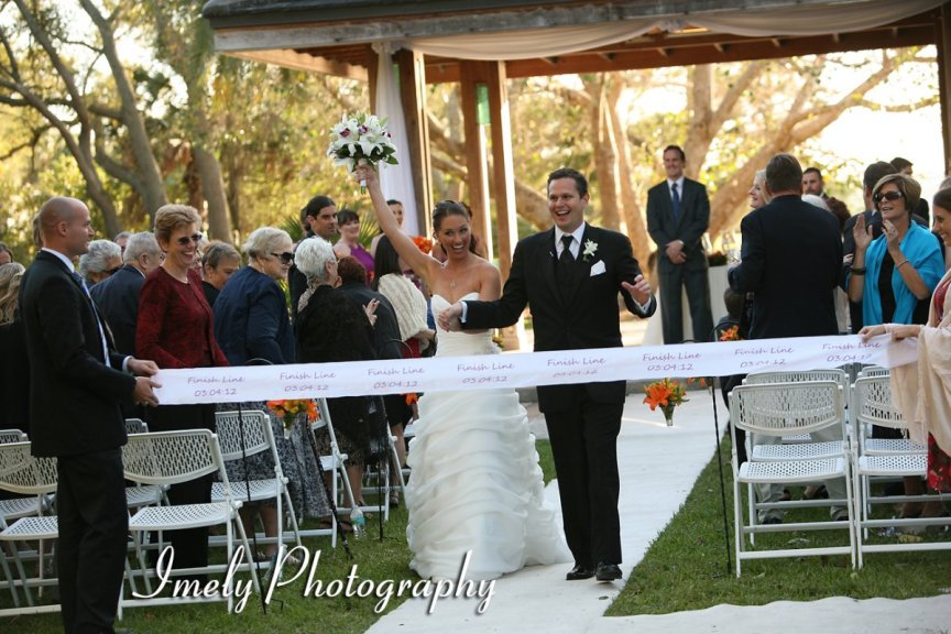 Wedding at Sarasota's Selby Gardens