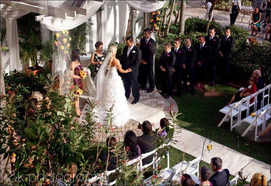 Sarasota Hyatt Regency Wedding Ceremony