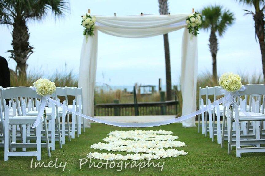 Ritz Carlton Beach Club Wedding