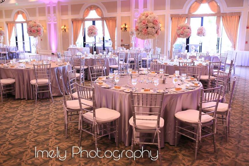 Dreamy Pink and White LWR Country Club Wedding