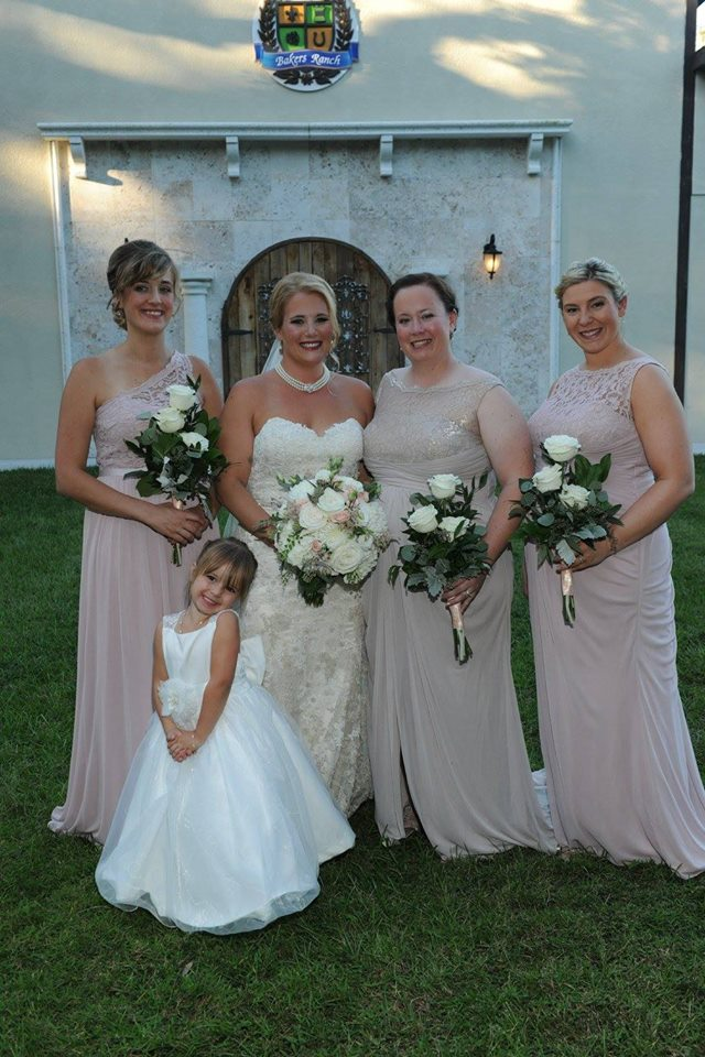 Brides with Bridesmaids