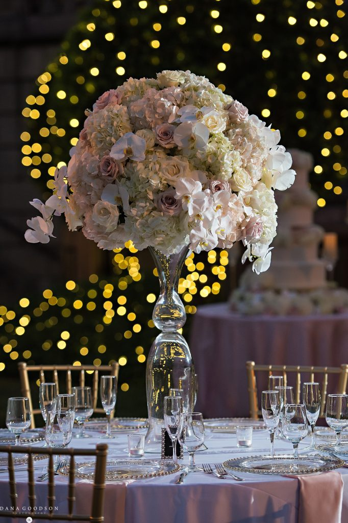 Glamorous Elevated Centerpiece