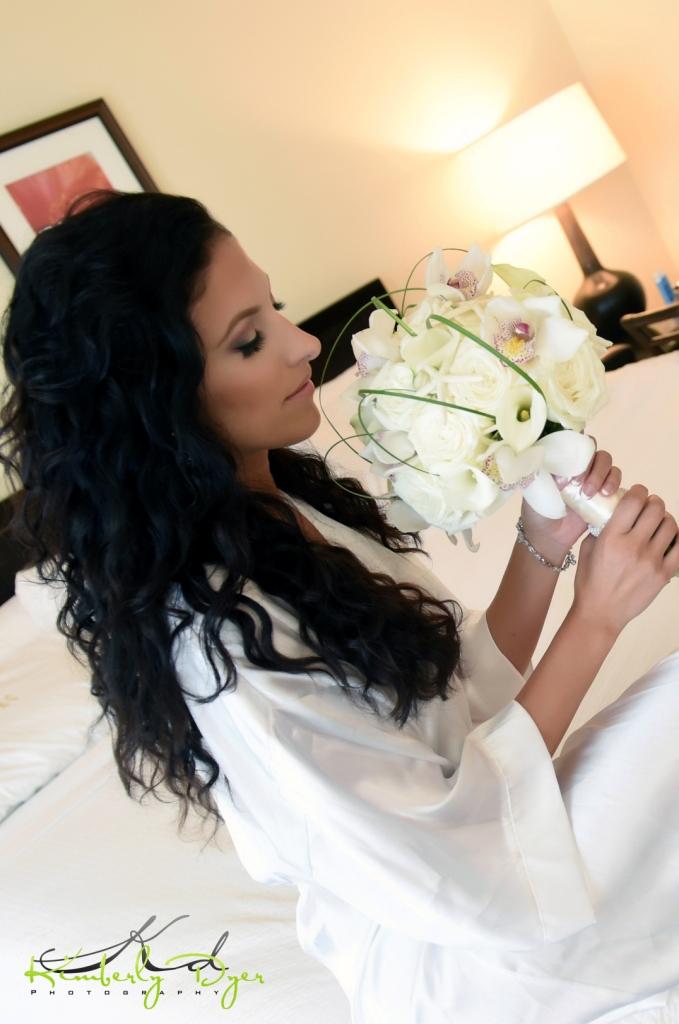 Bridal Bouquet Rose Calla Lilly Bouquet