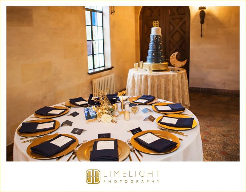 Gold Terrarium Centerpiece on Guest Tables