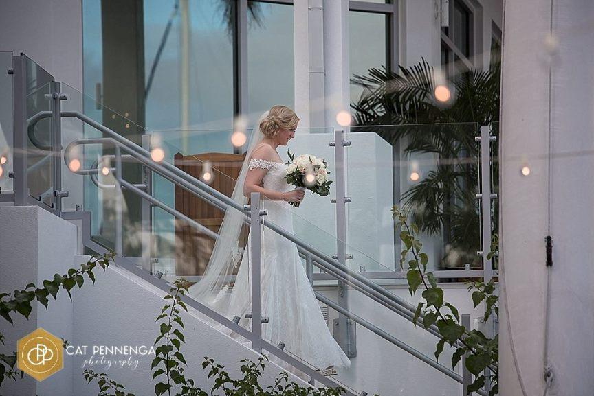 Bride Entrance to Ceremony at Sarasota Yacht Club