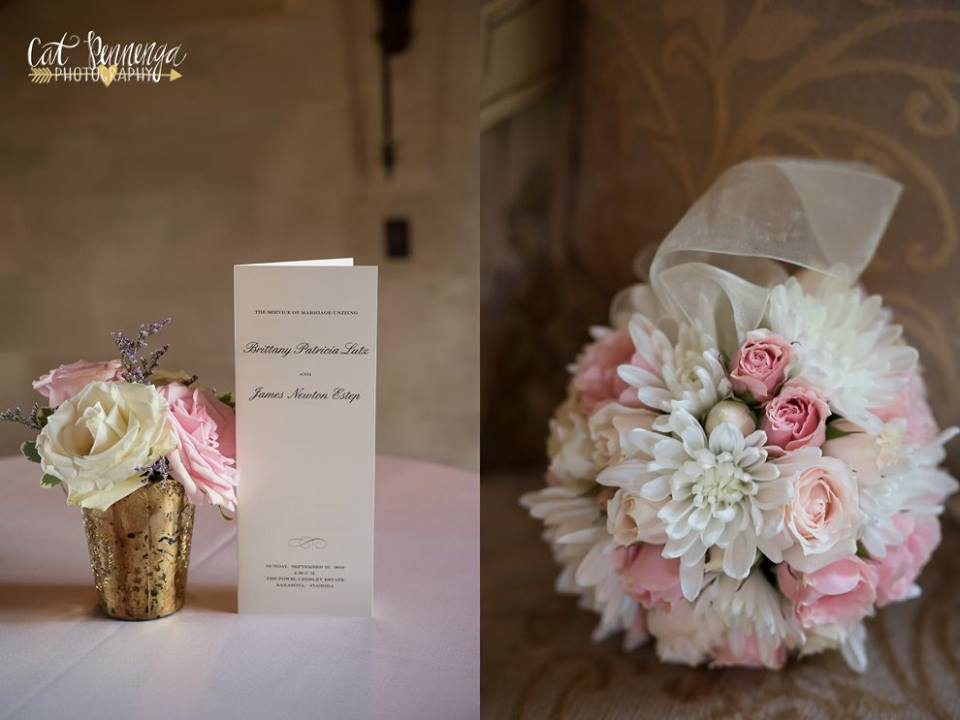 Rose-Filled, Pretty Pink and Blush Wedding at Powel Crosley Estate ...