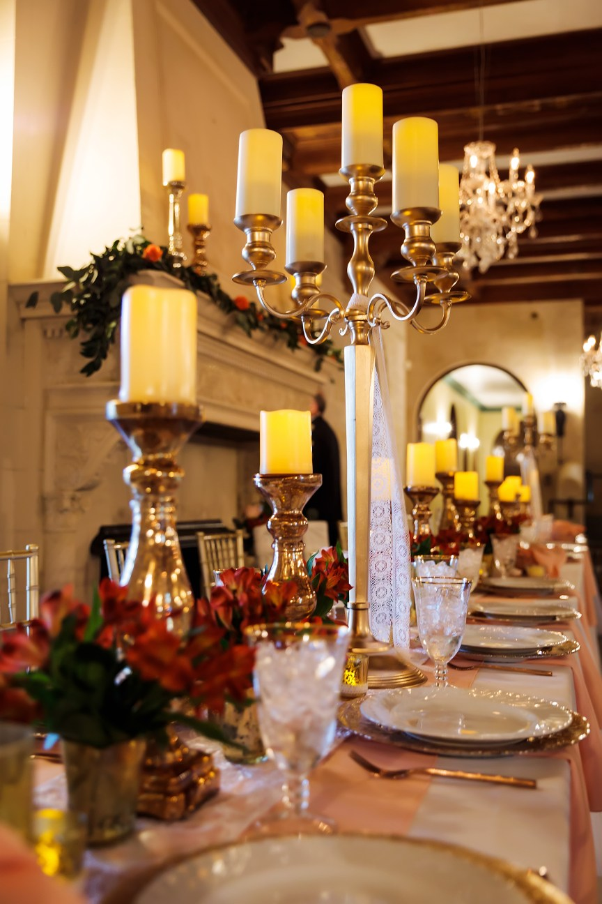 Mantle and Head Table