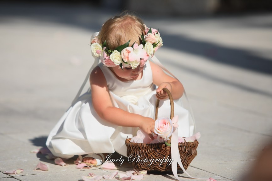 Flower Girl with Flower Halo