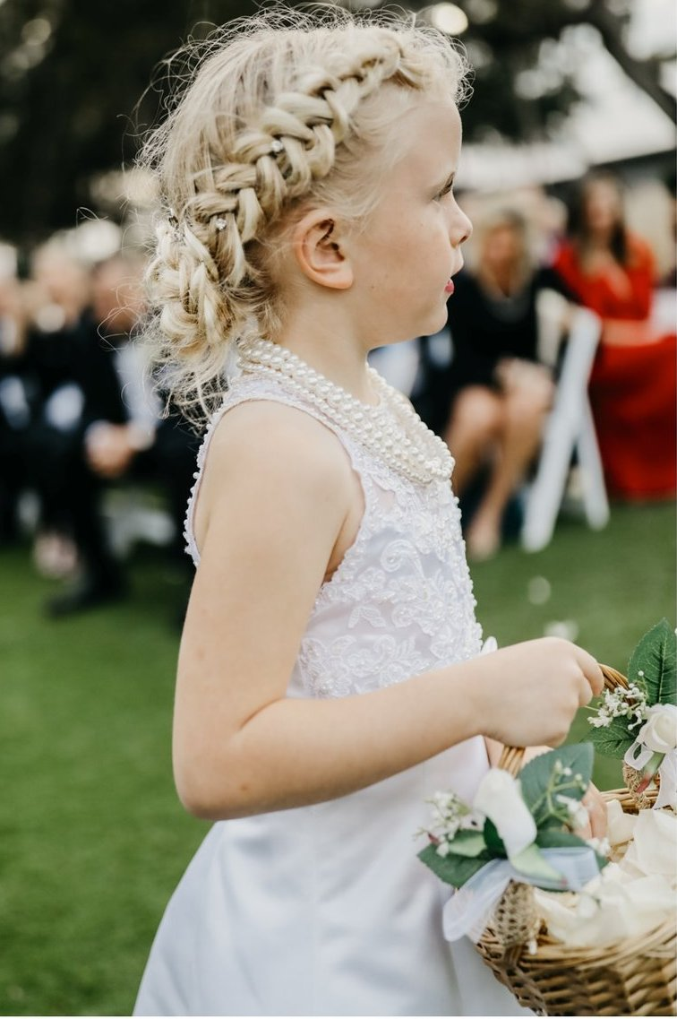 Flower Girl with Basket