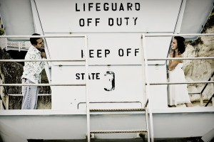 Lifeguard tower engagement
