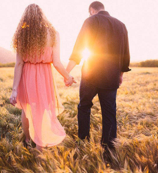 Field Engagement Photography  of