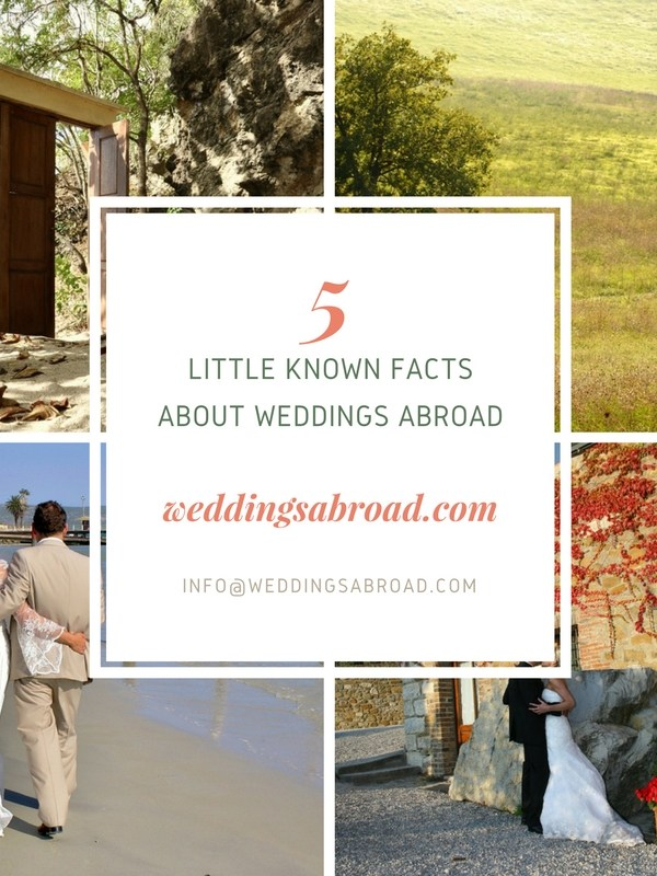 Little Known Facts about Weddings Abroad
