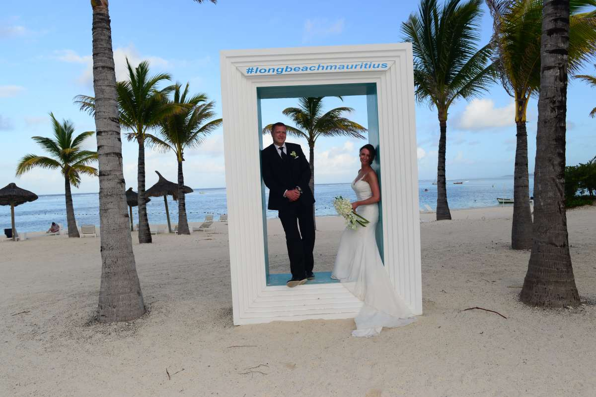 Real Weddings Abroad - An intimate ceremony on the tropical paradise island of Mauritius