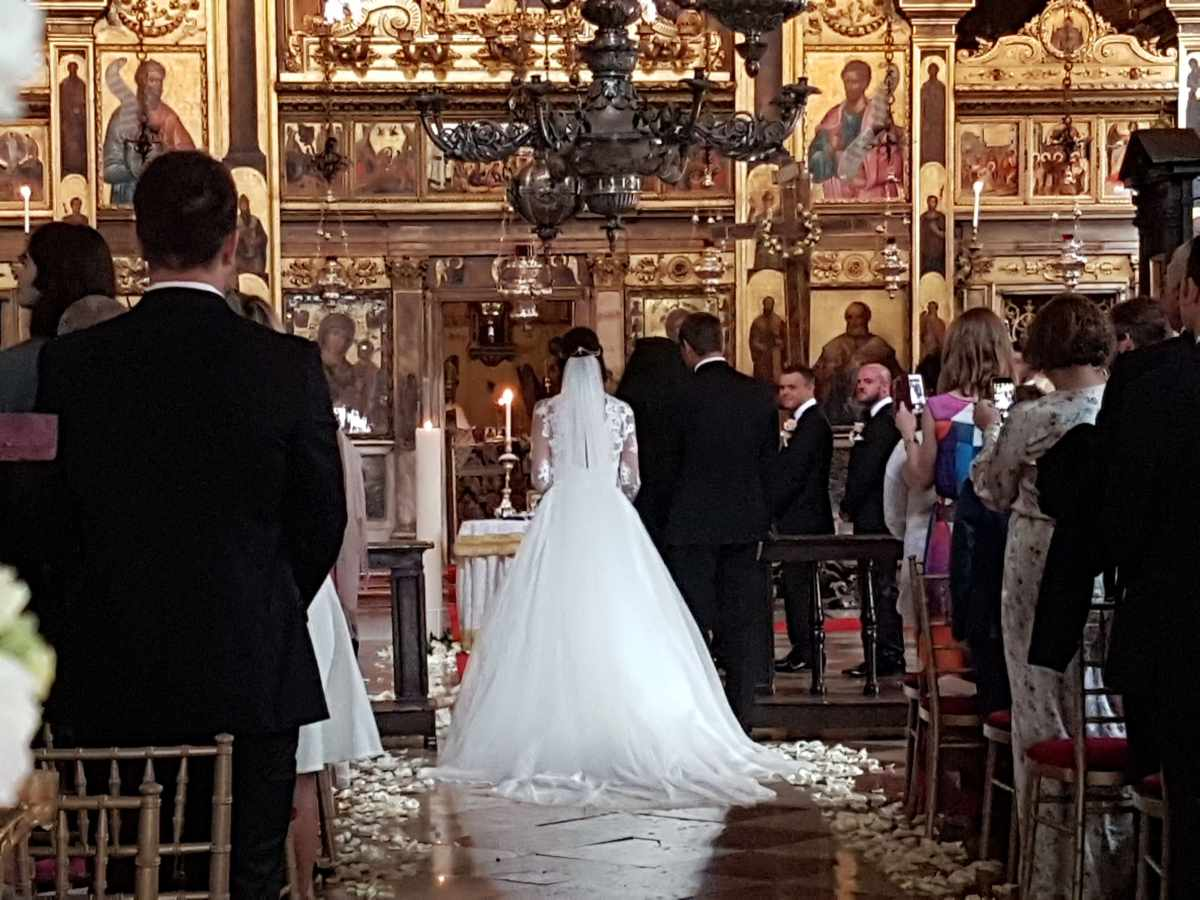 Real Weddings Abroad - An Orthodox Bride in Venice