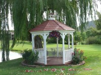Wedding Gazebo Decorating Ideas
