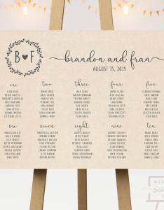 also kraft wedding seating chart co rh weddingseatingco