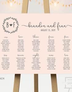 Peach background seating chart also wedding co rh weddingseatingco