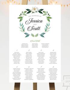 also wreath seating chart with head table wedding co rh weddingseatingco