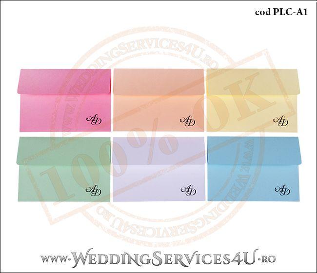Plic Colorat Personalizat pentru Invitatie de Nunta Botez PLC-A1