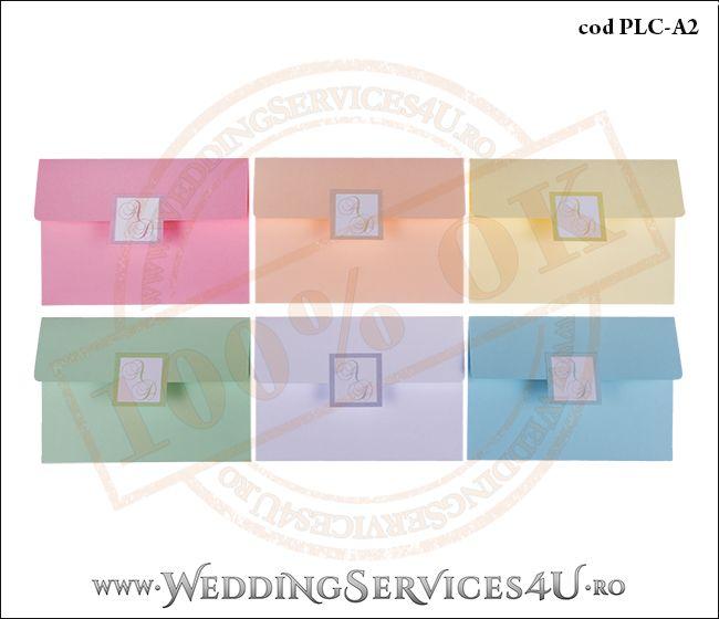 Plic Colorat Personalizat pentru Invitatie de Nunta Botez PLC-A2