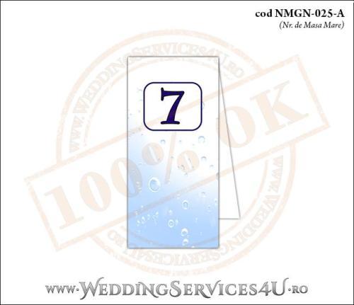 NMGN-025-A Numar de Masa pentru Nunta sau Botez cu tematica marina