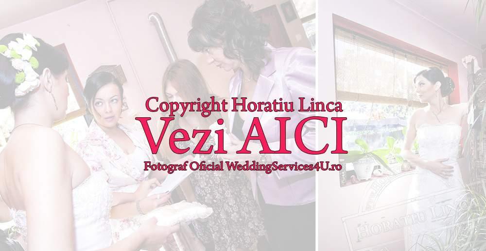 05 fotografii cu pregatirile nuntii