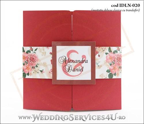 Invitatie_Deluxe_Nunta_Botez_IDLN-020-01_cu_trandafiri