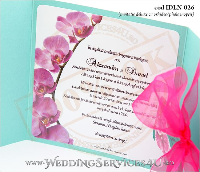 Invitatie_Deluxe_Nunta_Botez_IDLN-026-08_cu_orhidee_phalaenopsis