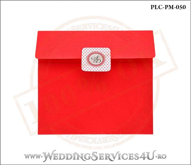 Plic Patrat Invitatie Nunta-Botez PLC-PM-050-01