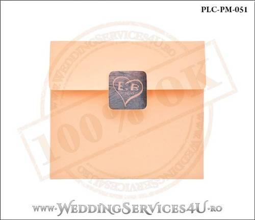Plic Patrat Invitatie Nunta-Botez PLC-PM-051-01
