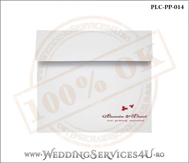 Plic Patrat Invitatie Nunta-Botez PLC-PP-014-01