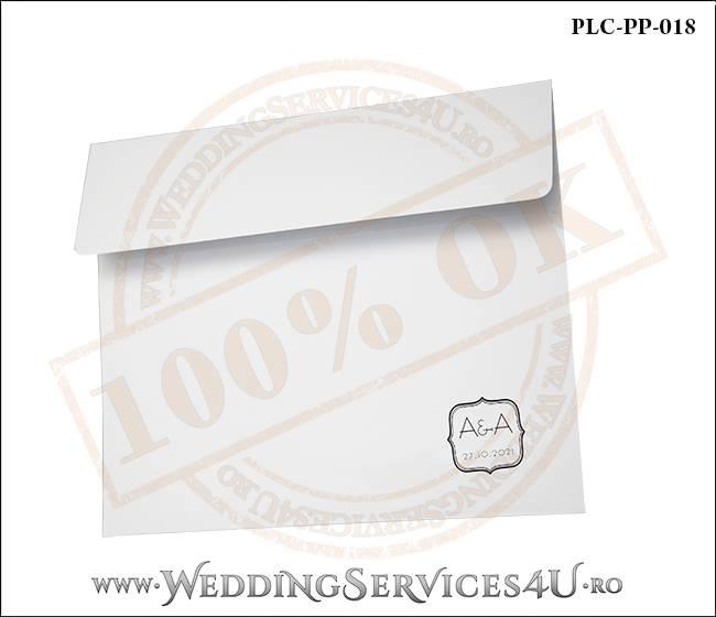 Plic Patrat Invitatie Nunta-Botez PLC-PP-018-02