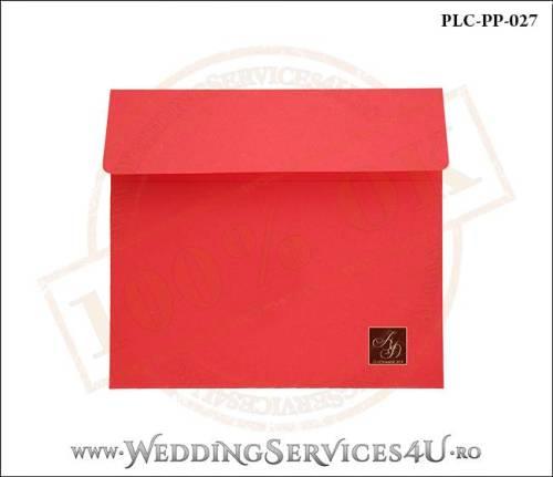 Plic Patrat Invitatie Nunta-Botez PLC-PP-027-01+