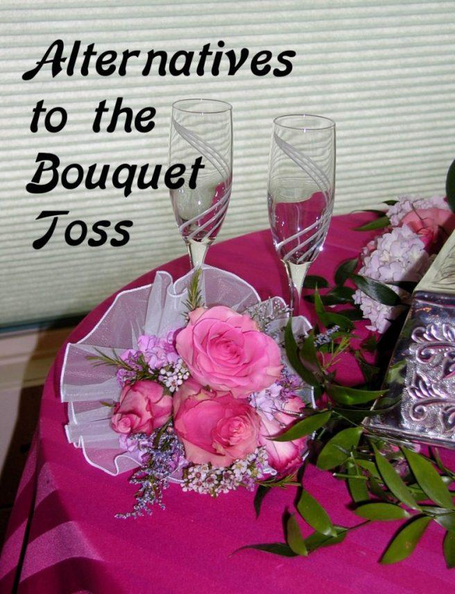 alternatives to bouquet toss