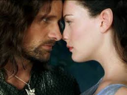Lord of the Rings - Arwen and Aragorn
