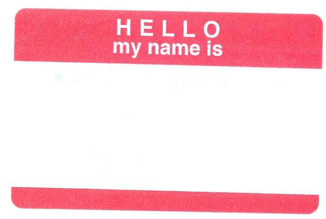 hello my name is  - name change after wedding