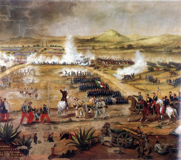 Battle of Puebla , May 5, 1862