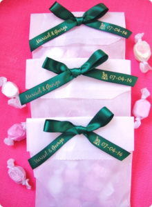 Eco-Friendly Wedding Tips - Edible wedding favors