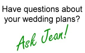 Ask Jean - Weddings From The Heart, Dayton, Ohio jean@weddingsfromtheheart.net