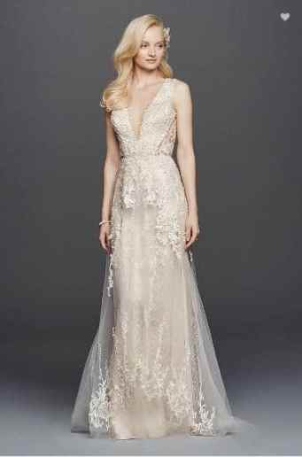 2018 Wedding Trends - wedding dress with sheer panels
