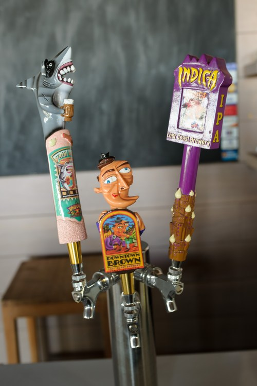 Costa Rica beer taps