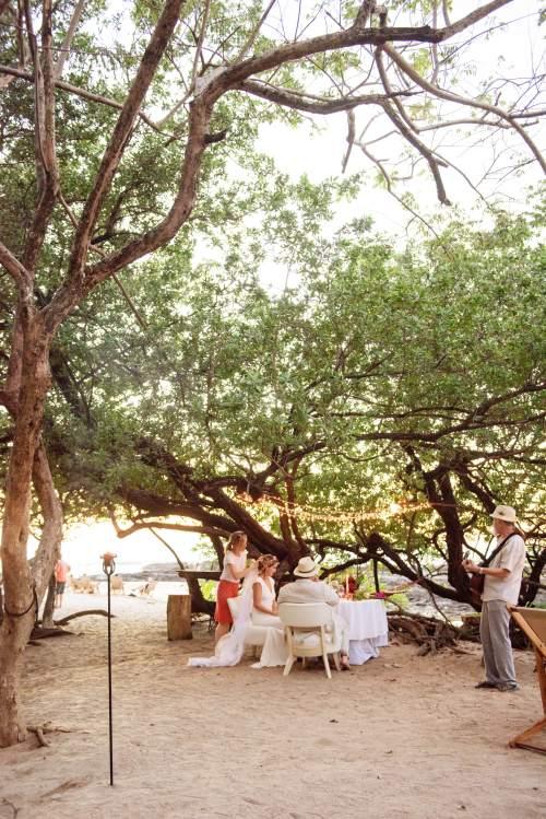 wedding cala luna costa rica
