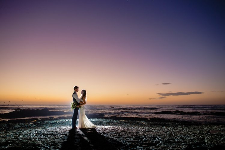 bride-groom-evening-beach-maxwell-weddings