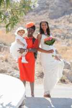 wedding day in lindos