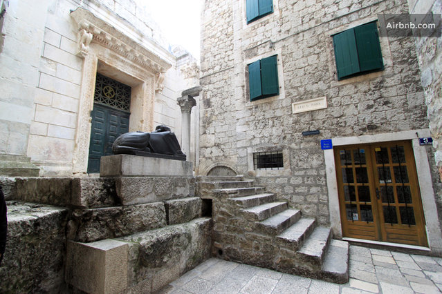 Unique places in Diocletian palace to get married  Weddings in Split