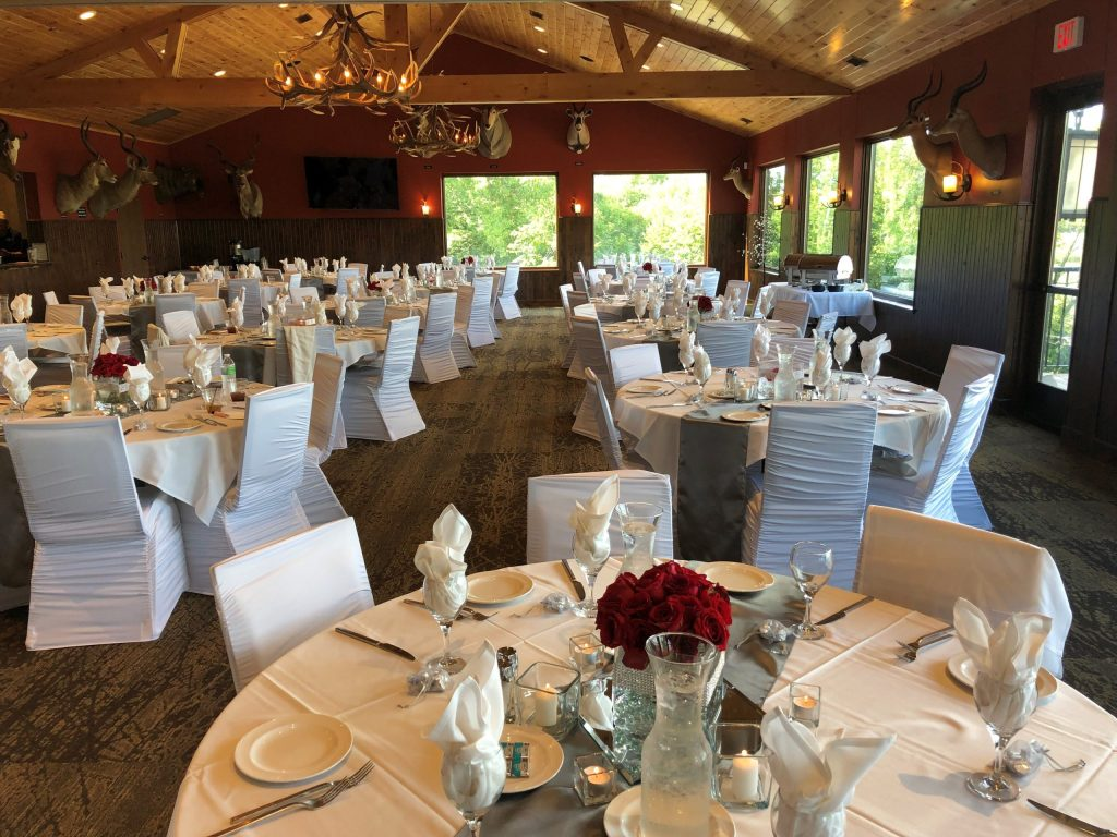 MN Horse indoor wedding