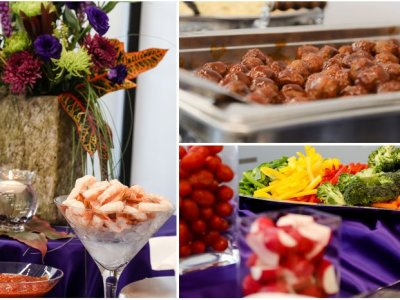 Catering pics at Lakeville Weddings